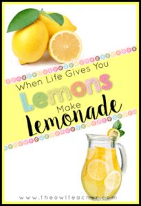 Chaos!  Lemons!  Lemonade?