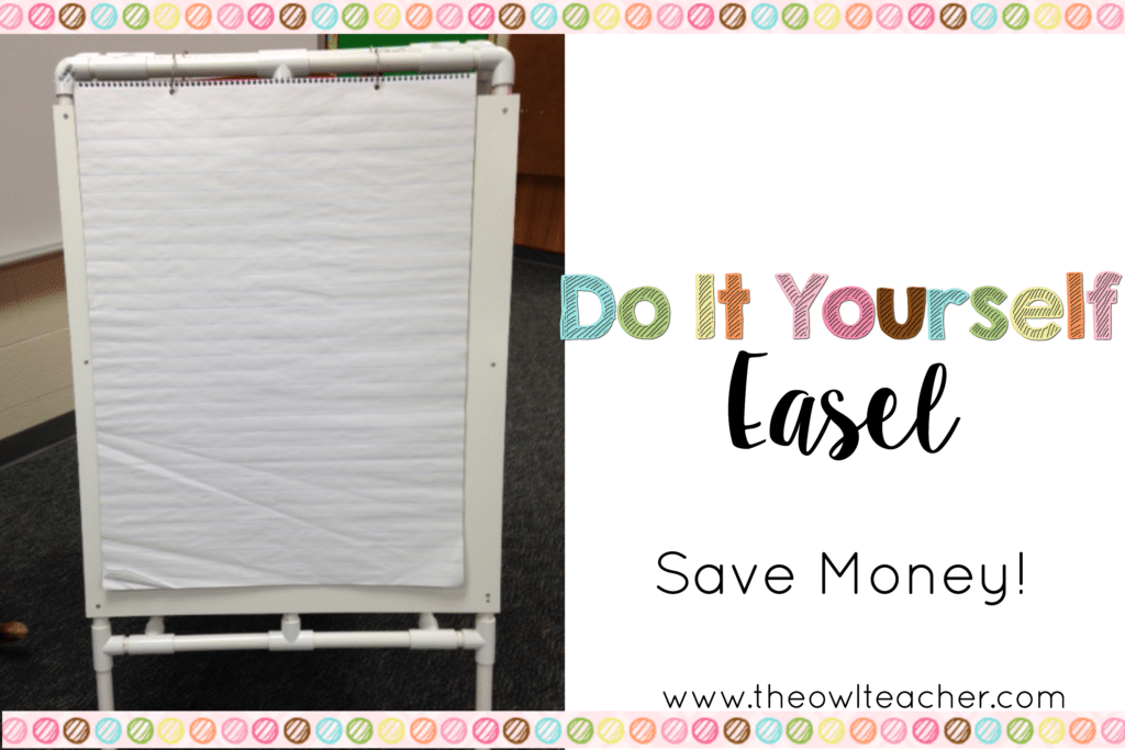 DIY Easel for Your Classroom