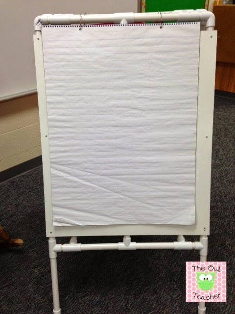 Diy Easel For Your Classroom The Owl Teacher