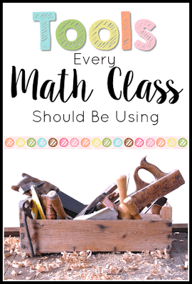 Check out these tools that every elementary math classroom should be using! Are you using them?