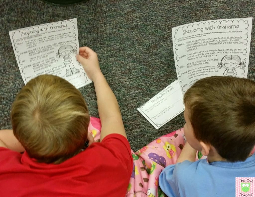 Partner Plays- Reader's Theater