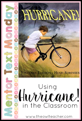 Are you looking for a way to connect fiction and nonfiction text together while teaching about comparing and contrasting? This mentor text teaches about Hurricanes all while utilizing figurative language!