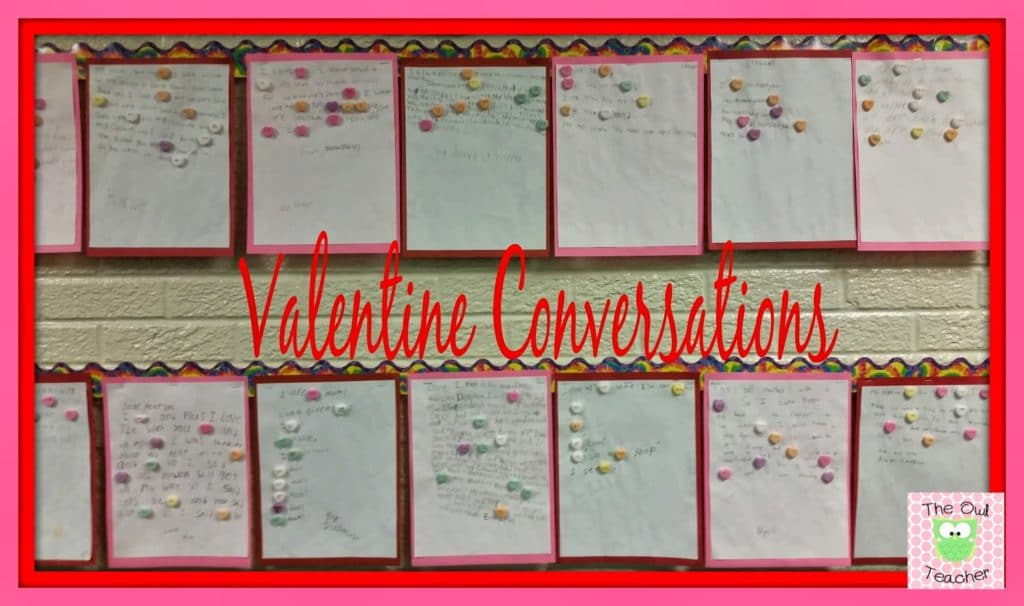 Valentine's Day Writing and Bulletin Board Activity