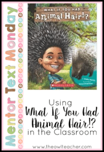 MTM:  What if you Had Animal Hair?