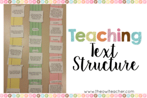 Spicing Up Text Structure