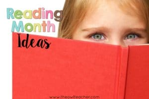 Reading Month Fun!