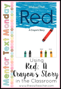 MTM:  Red: A Crayon's Story