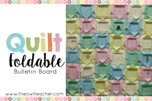 A Quilt with Class!
