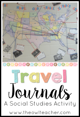 I'm always looking for an engaging social studies lesson to teach and this also brings aboard writing journals! Check out this engaging activity that will motivate your students to learn about geography! Teaching Social Studies | Teaching Writing | Back to School Ideas | Journal Ideas