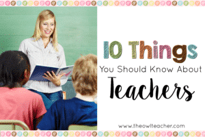 Top 10 You Should Know About Teachers