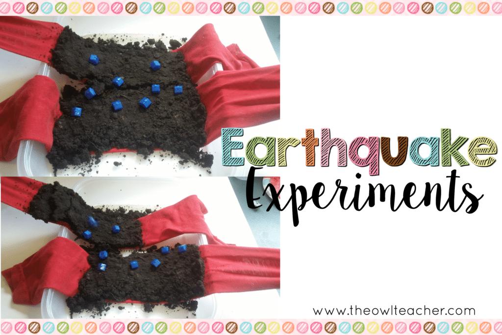 Earthquake Experiments