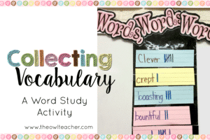 Collecting Vocabulary