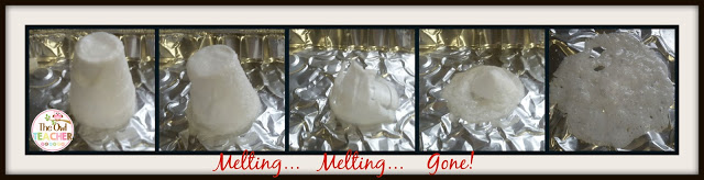Chemical reactions melting cups!