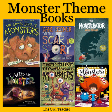 Mentor texts with a monster theme