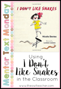 MTM:  I (Don't) Like Snakes