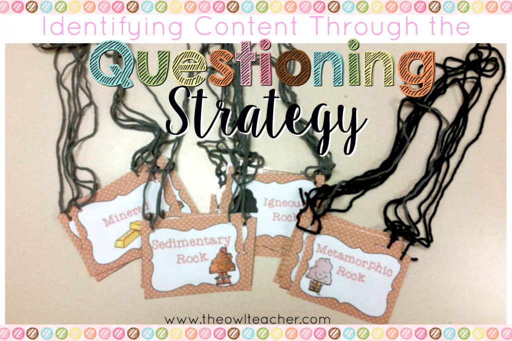 Reviewing Content through the Questioning Strategy