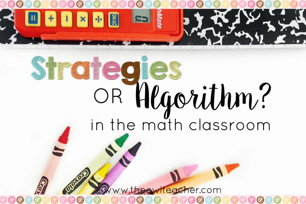Which is better in math – Standard Algorithm or Invented Strategies?