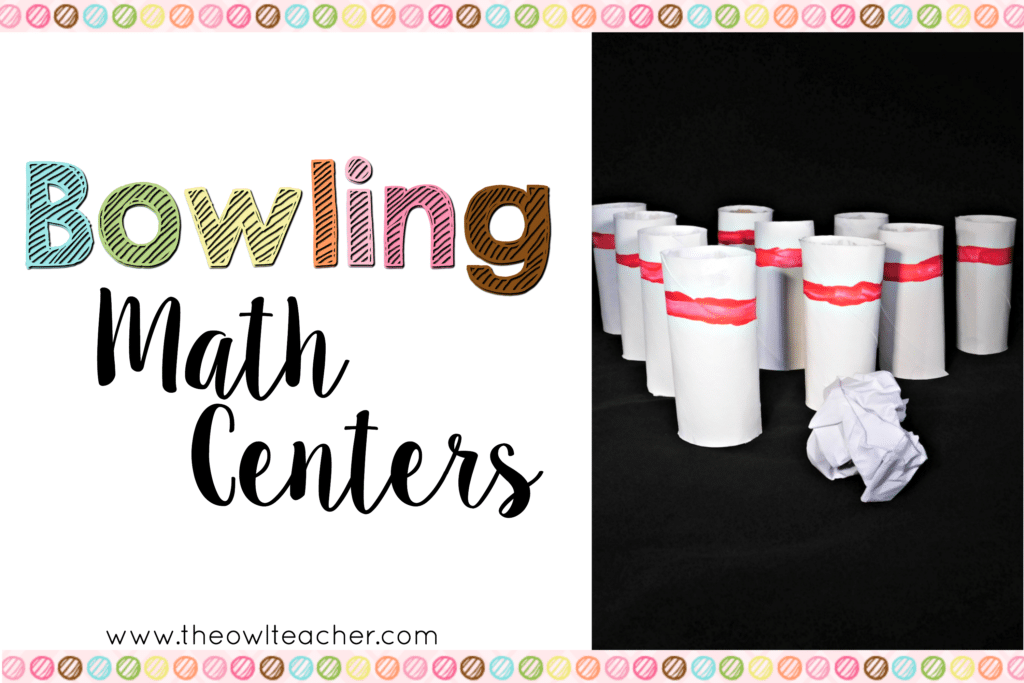 Bowling Math Centers