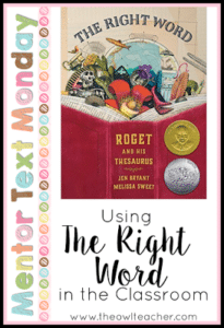 MTM:  The Right Word:  Roget and His Thesaurus