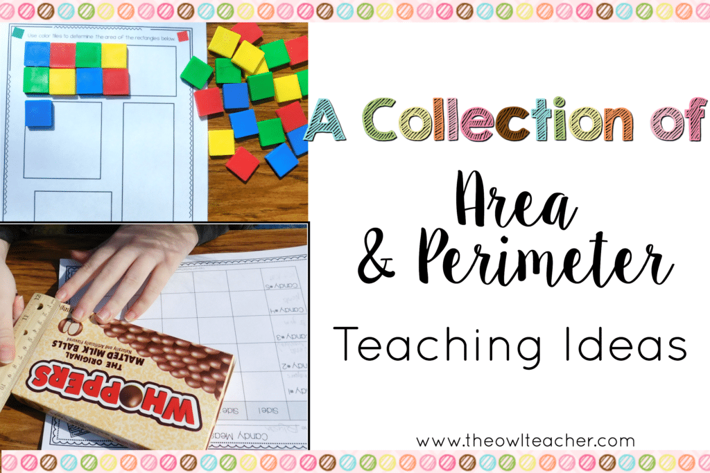 A Collection of Area and Perimeter Ideas