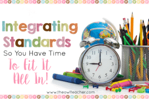 Time is so limited in the elementary classroom with all the standards we have to teach. How can we fit them all in while teaching them adequately? Integrate! Check out these ideas and get a freebie!