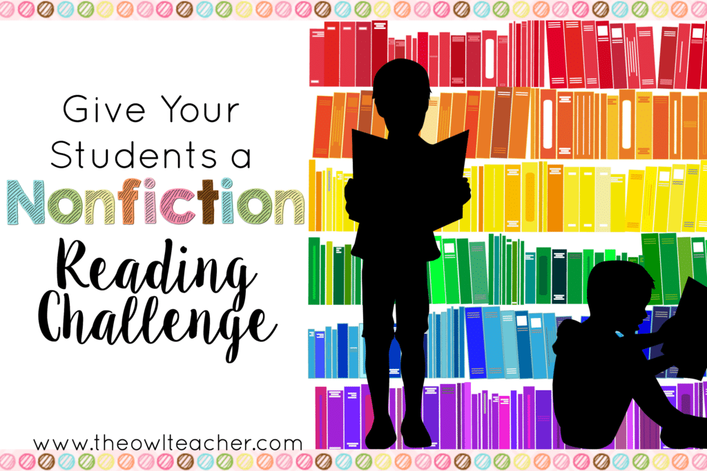 A Nonfiction Reading Challenge (And A Freebie!)