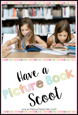 Pique students' interests in reading by having a picture book scoot. This reading idea exposes students to a variety of genres, authors, and books - all while engaging students to read!