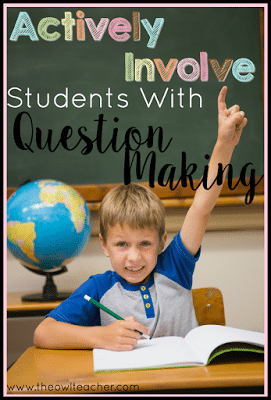 Every teacher wants to actively involve students in lessons and activities, but sometimes that idea gets lost in translation. This activity that allows students to make the questions is a sure-fire way to actively involve them and get them engaged in learning! Read how I did this in my own classroom in this post.