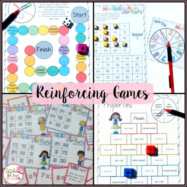 Number Names Worksheets beginning multiplication games : teaching multiplication - Teaching Strategies