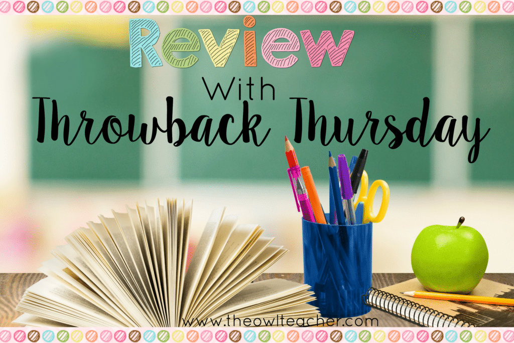 Review with Throwback Thursday