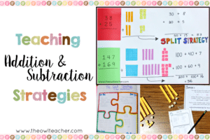 Teaching Addition and Subtraction Strategies