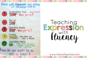 Teaching Expression in Fluency