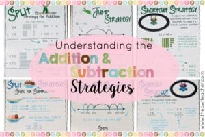 Understanding Addition & Subtraction Strategies