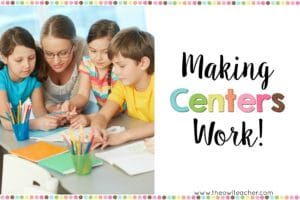 Making Centers Work