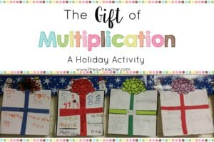 Give your students the gift of multiplication this year with this fun holiday activity! It has a freebie waiting for you to get your students started!