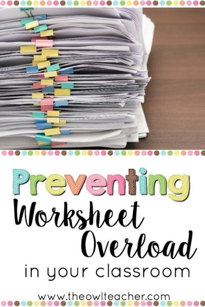 Worksheets are a normal and expected part of any teacher's instruction. However, they are arguably not very engaging and one of the least valuable teaching tools available. In this blog post, I share 15 alternative ideas for more engaging and authentic teaching tools that you can use instead of worksheets. Check out the list here, and leave a comment if you have another idea to provide!