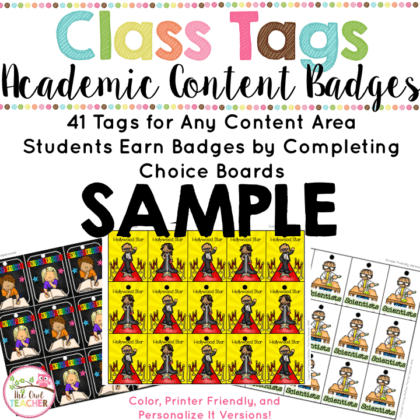 """""""Brag Tags"""" are engaging and a great classroom management tool to motivate students, but now there is a new and exciting way to use them! Check out this blog post to learn more about it!"""