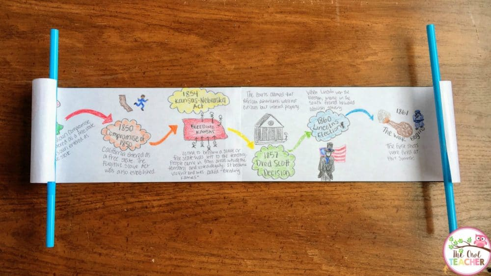 Do your students have to create timelines to meet academic standards? Check out these 10 different timelines that are sure to engage and motivate your students during social studies with this important reading skill!