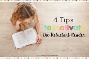 Every classroom has reluctant readers - probably a few of them! This blog post shares four tips to motivate reluctant readers, including tips like going digital and comparing books and movies. Click through to read all of the suggestions in more detail!