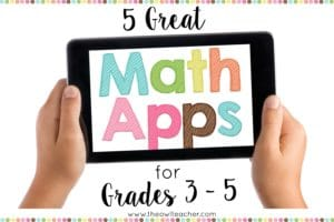 Looking to make your math class more enjoyable and interactive for your students? This post lists and describes five math apps that are great additions to any math classroom. Click through to learn all about them!