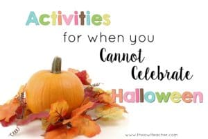 Activities for When You Can't Celebrate Halloween