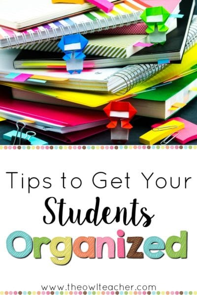 When you get your students organized, you will save time in your classroom for the important things like teaching and learning! Check out these student organization tips for any teaching classroom for time saving!